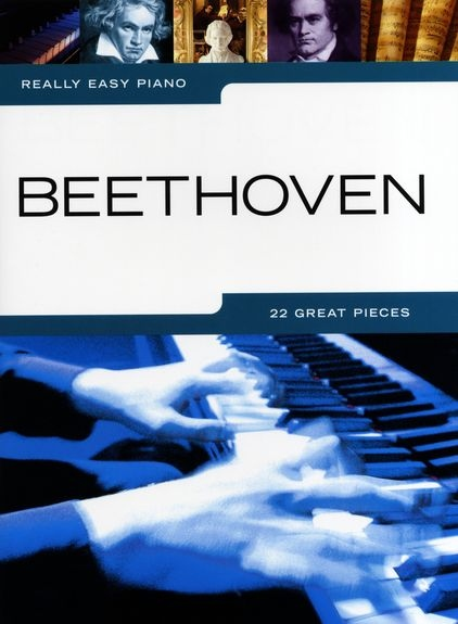 No brand REALLY EASY PIANO BEETHOVEN PIANO BOOK