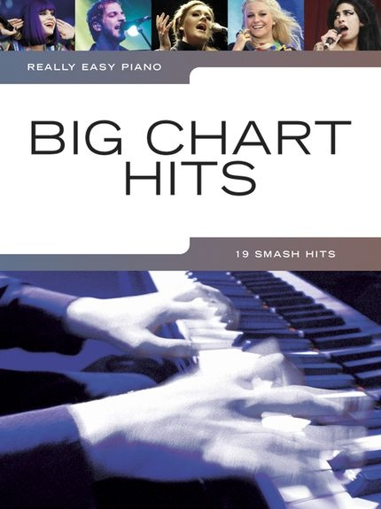No brand REALLY EASY PIANO BIG CHART HITS EASY PIANO SOLO BOOK
