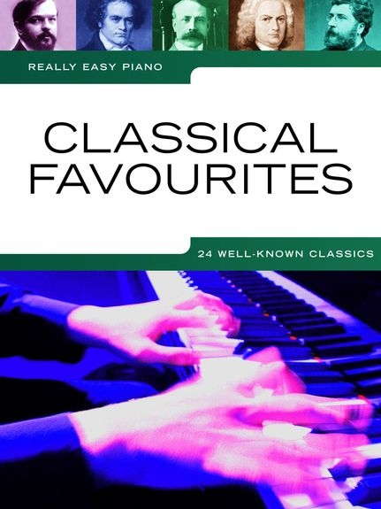 No brand REALLY EASY PIANO CLASSICAL FAVOURITES PIANO BOOK