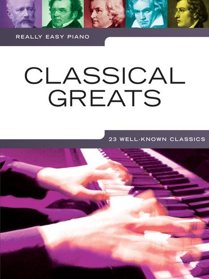 No brand REALLY EASY PIANO CLASSICAL GREATS PIANO BOOK