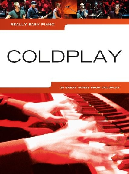 No brand REALLY EASY PIANO COLDPLAY 2014 UPDATE EASY PF BOOK