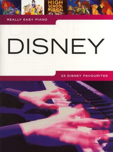 No brand REALLY EASY PIANO DISNEY PIANO BOOK