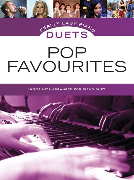 No brand REALLY EASY PIANO DUETS POP FAVOURITES PIANO BOOK
