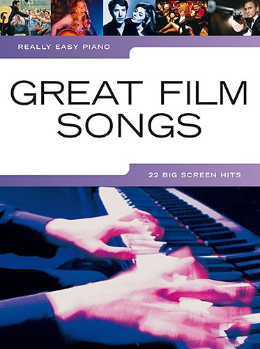 No brand REALLY EASY PIANO GREAT FILM SONGS PIANO BOOK