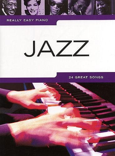 No brand REALLY EASY PIANO JAZZ PIANO SOLO BOOK