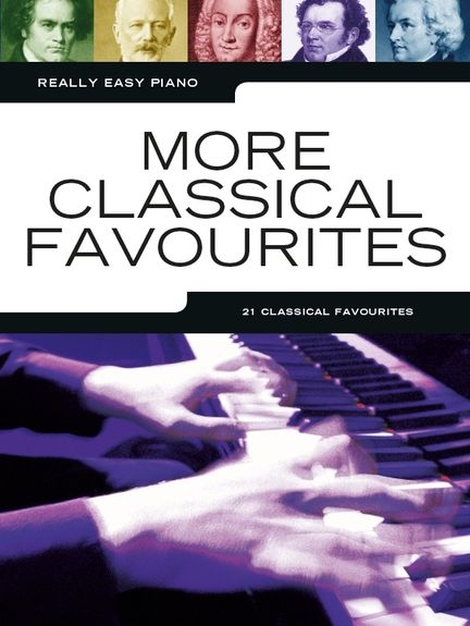 No brand REALLY EASY PIANO MORE CLASSICAL FAVOURITES EASY PF BOOK