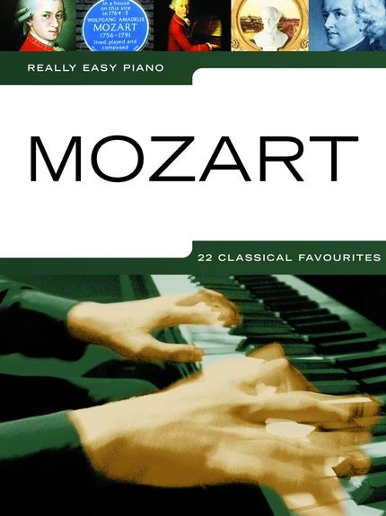 No brand REALLY EASY PIANO MOZART PIANO BOOK