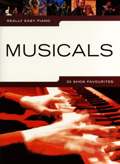 No brand REALLY EASY PIANO MUSICALS 20 SHOW FAVOURITES PIANO BOOK