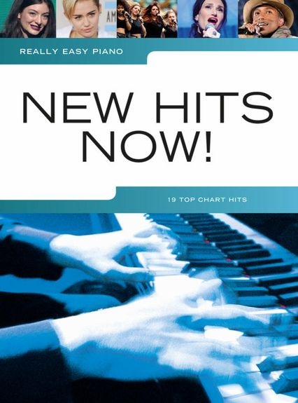 No brand REALLY EASY PIANO NEW HITS NOW EASY PF BOOK