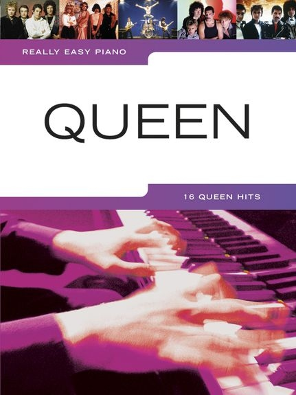 No brand REALLY EASY PIANO QUEEN PIANO BOOK
