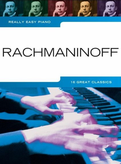 No brand REALLY EASY PIANO RACHMANINOFF PF BOOK