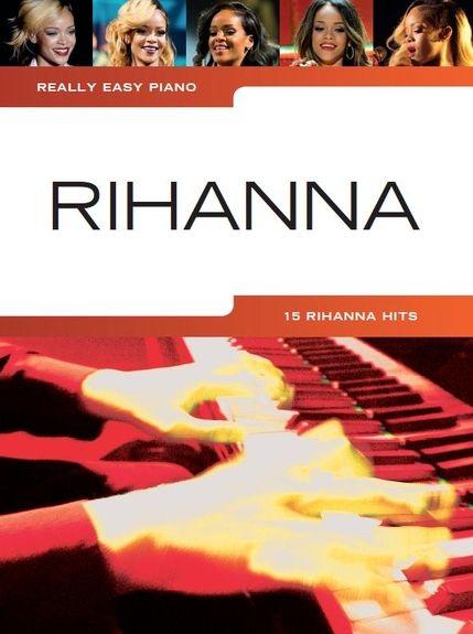 No brand REALLY EASY PIANO RIHANNA EASY PF BOOK