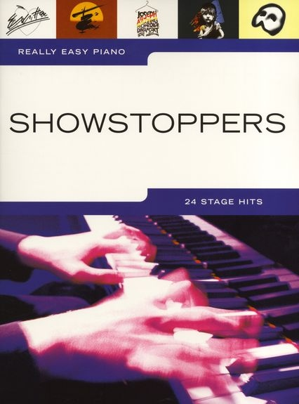 No brand REALLY EASY PIANO SHOWSTOPPERS PF SOLO BOOK