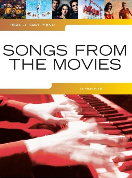 No brand REALLY EASY PIANO SONGS FROM THE MOVIES EASY PF BOOK