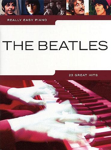 No brand REALLY EASY PIANO THE BEATLES PIANO BOOK