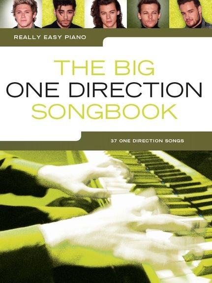 No brand Really Easy Piano: The Big One Direction Songbook