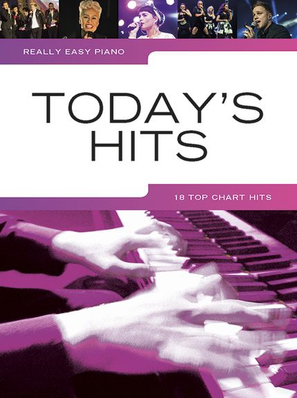 No brand REALLY EASY PIANO TODAY'S HITS PIANO BOOK