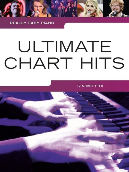 No brand REALLY EASY PIANO ULTIMATE CHART HITS EASY PIANO BOOK