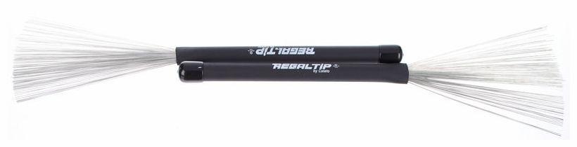 Perii de tobe cu fire metalice retractabile Regal Tip BR-500LB