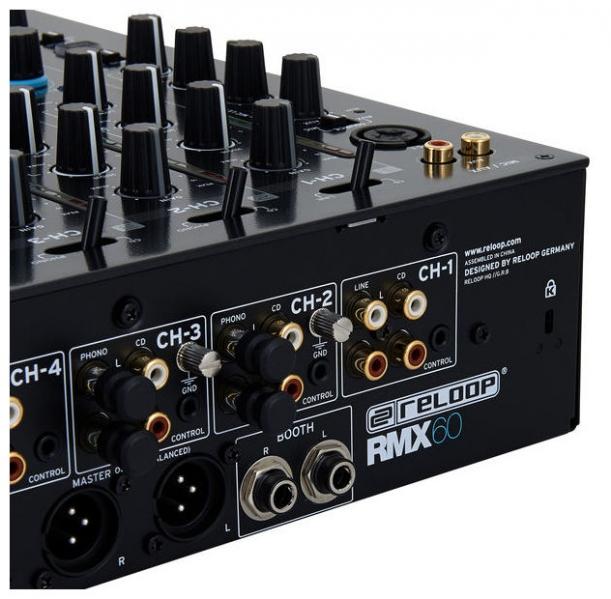 Mixer de DJ Reloop RMX-80 Digital