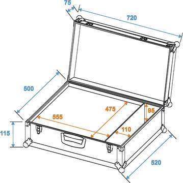 Roadinger Universal Case K-2