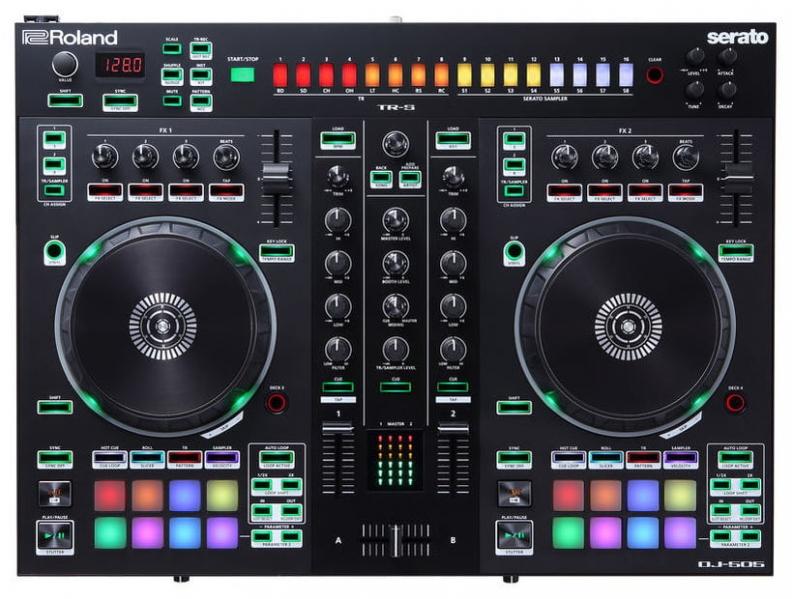 Controller DJ Roland DJ-505