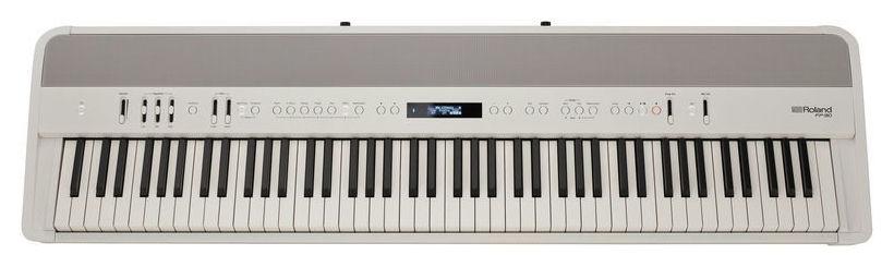 Pian digital cu 88 de clape Roland FP-90 WH