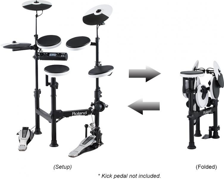 Roland TD-4KP Portable V-Drums