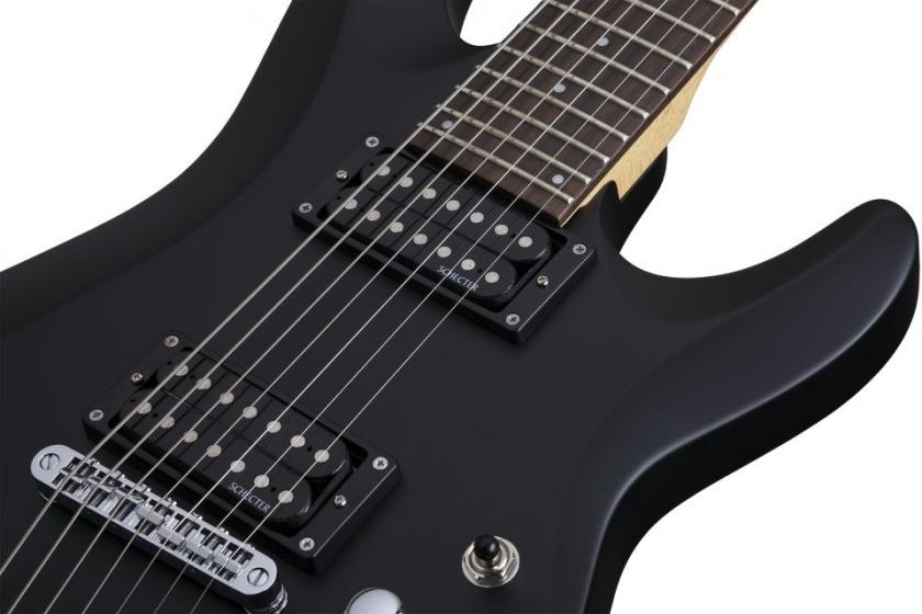 Chitara electrica cu 7 corzi Schecter C-7 Deluxe SBK