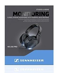 Sennheiser HD-200 PRO