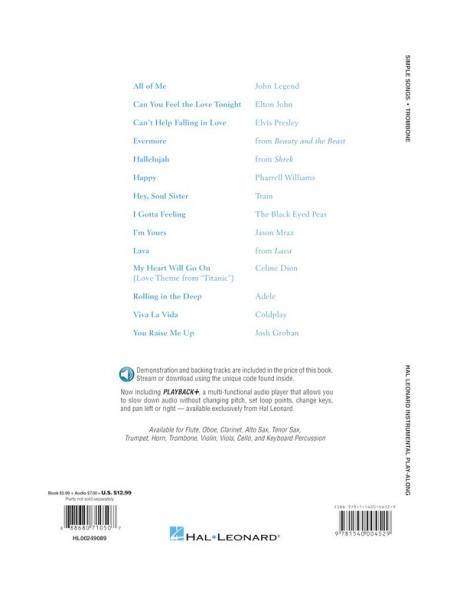No brand Simple Songs: Trombone