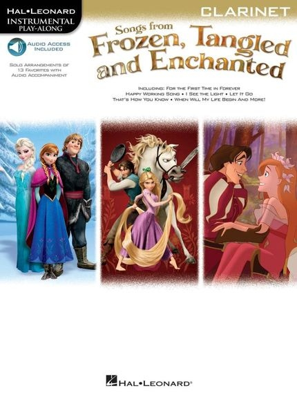 No brand Songs From Frozen, Tangled And Enchanted: Clarinet