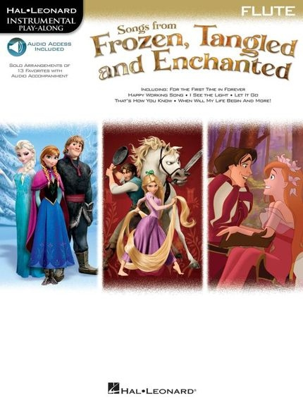 No brand Songs From Frozen, Tangled And Enchanted: Flute