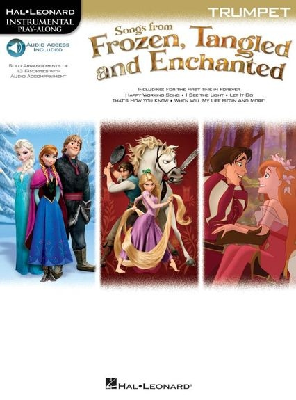 No brand Songs From Frozen, Tangled And Enchanted: Trumpet