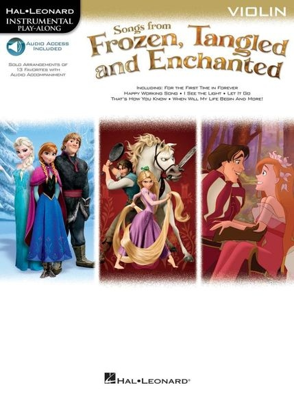 No brand Songs From Frozen, Tangled And Enchanted: Violin