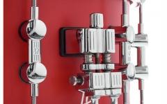Premier/toba mica Sonor SQ1 Snare Hot Rod Red