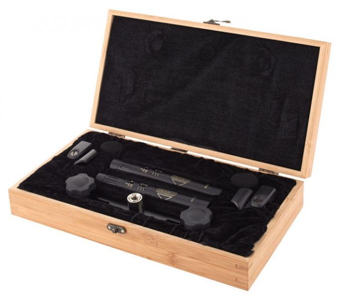 Pereche de microfoane stereo Sontronics STC-1S MT Black