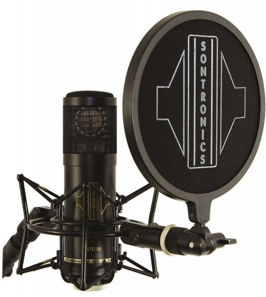 Microfon condenser cardioid cu accesorii Sontronics STC-20 Pack