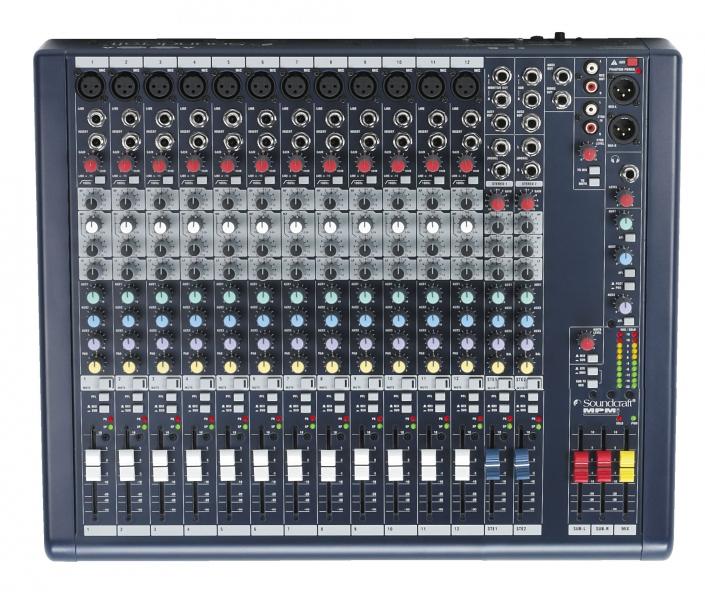 Soundcraft MPMi 12