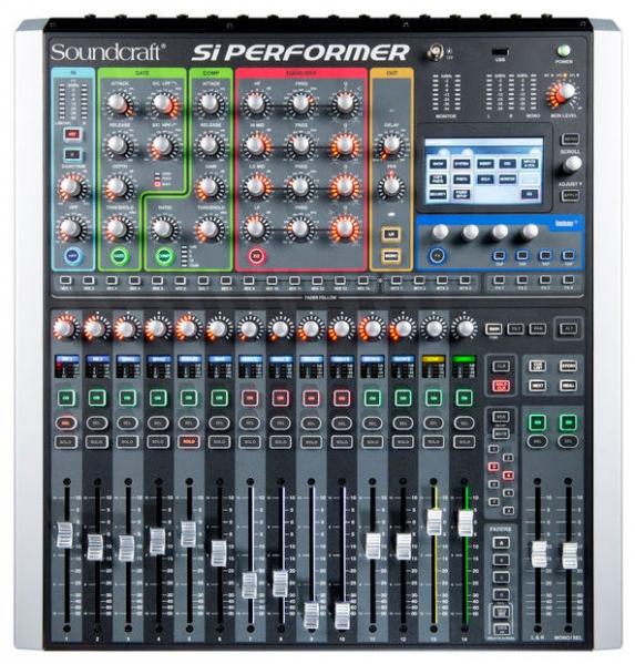Mixer digital cu controller DMX Soundcraft Si Performer 1