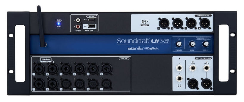 Mixer digital cu 16 canale Soundcraft Ui16