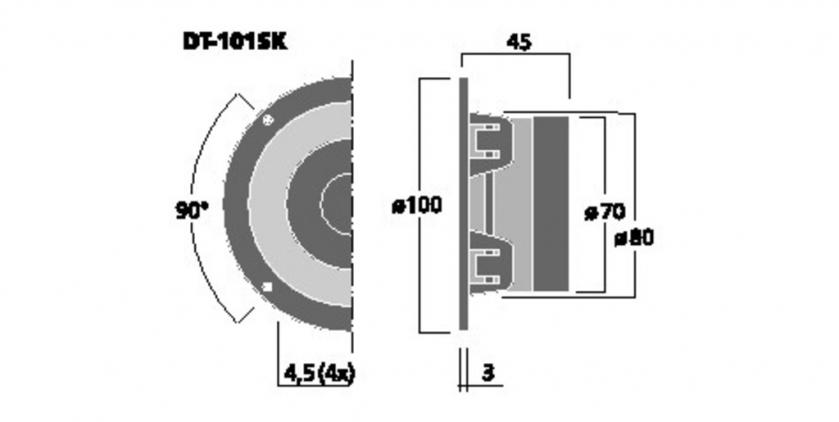 Stage Line DT-101SK