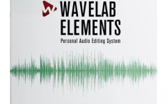 Software de editare si masterizare audio Steinberg Wavelab Elements 9.5