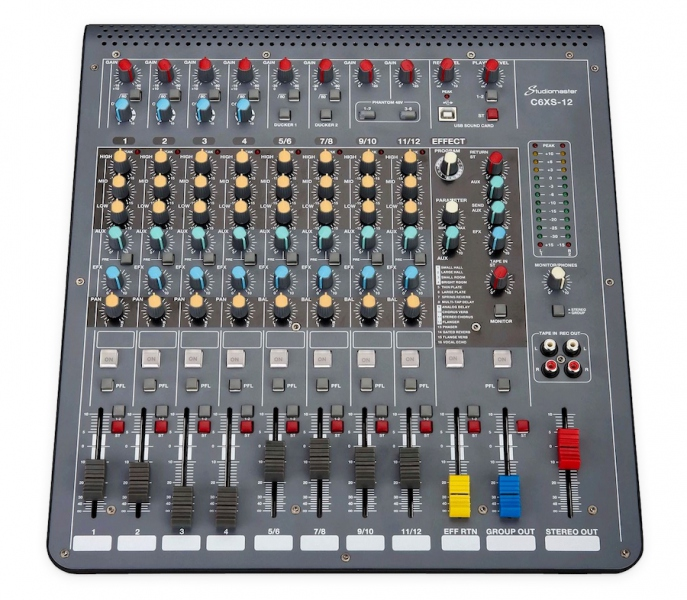 Studiomaster C6XS-12