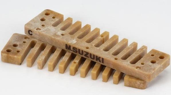 Muzicuta diatonica in Do (C) Suzuki Manji Low C HS-M20-LC
