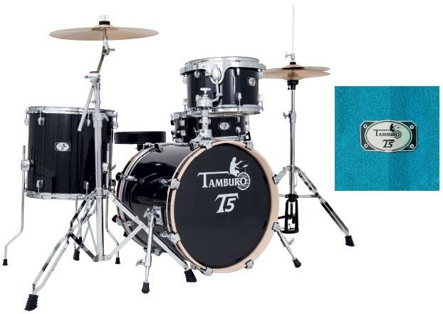 Tamburo T5 Jazz Blue Sparkle