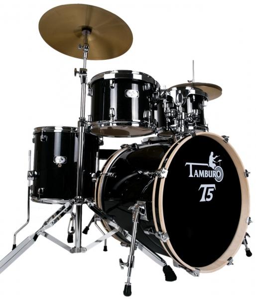 Tamburo T5 Plus Black Sparkle