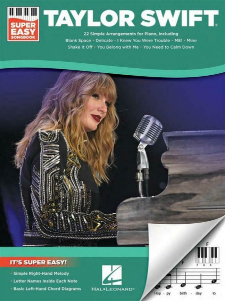 No brand Taylor Swift Super Easy Songbook