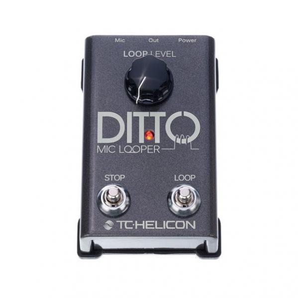 Pedala de efect Loop pentru microfon TC Helicon Ditto Mic Looper
