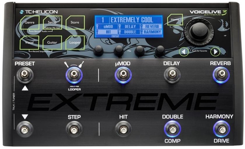 Procesor de efecte de voce TC Helicon VoiceLive 3 Extreme